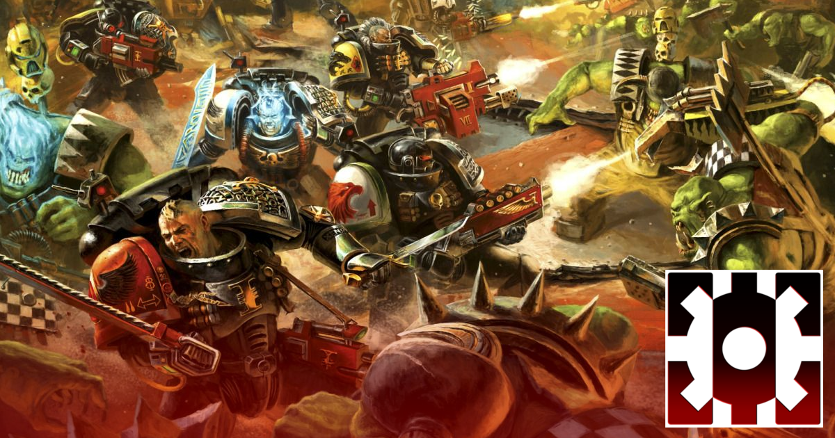 Deathwatch vs Orks